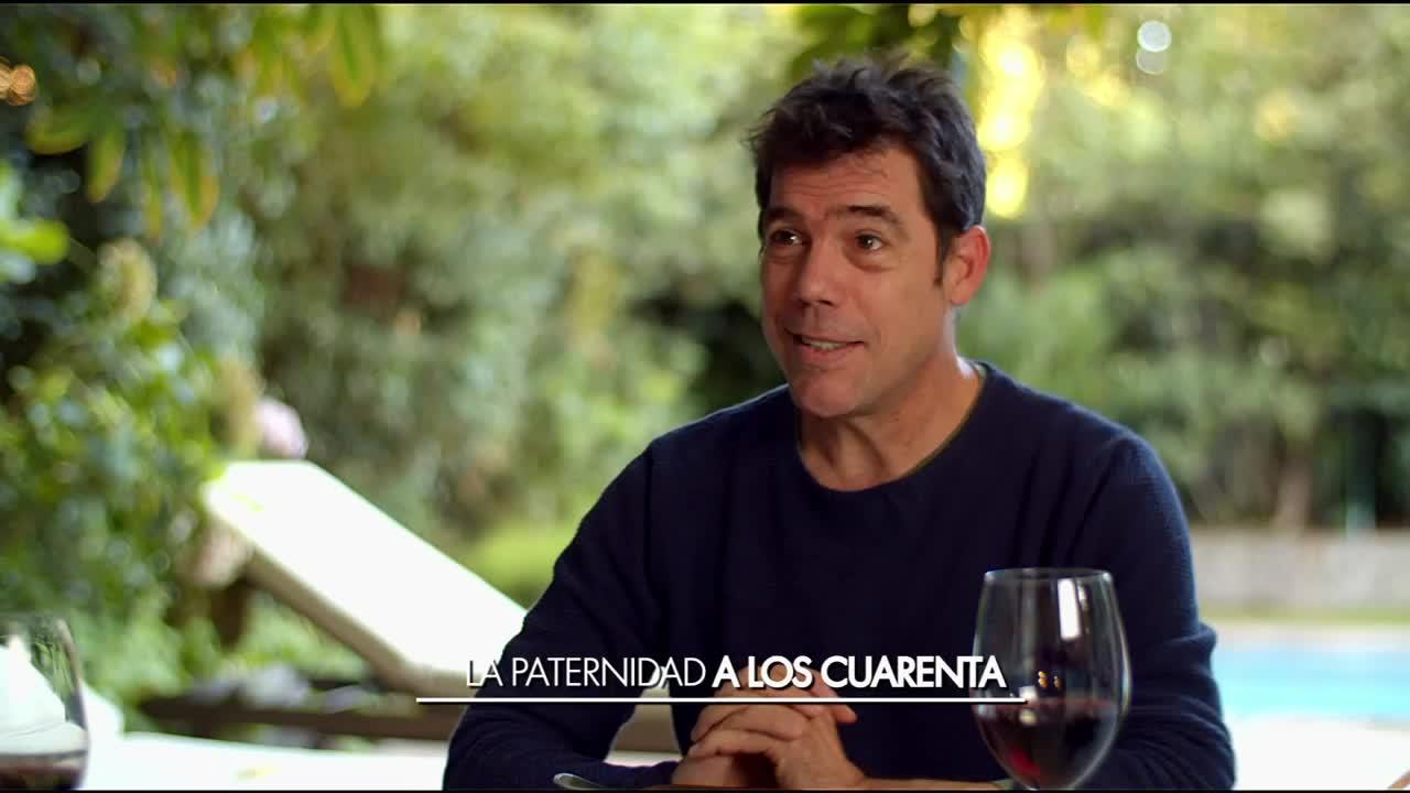 Álvaro Escobar y su paternidad