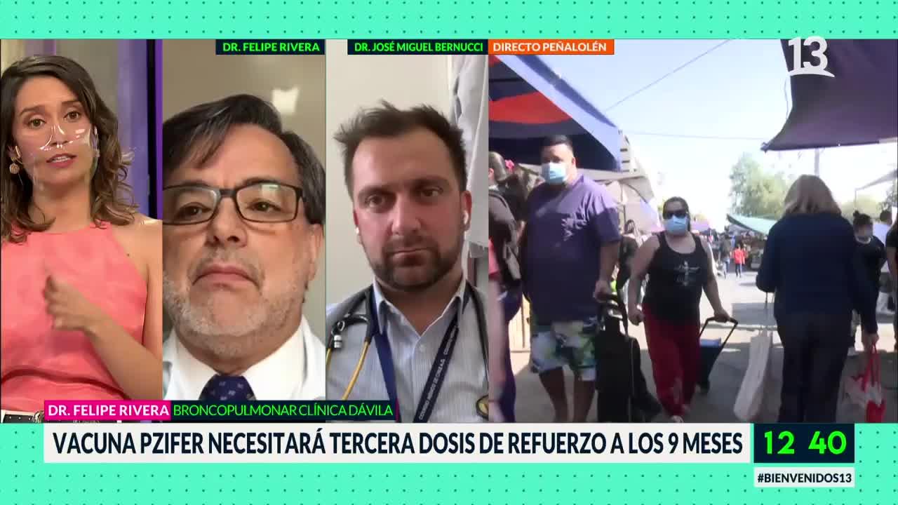 Dr Rivera y Bernucci en Bienvenidos