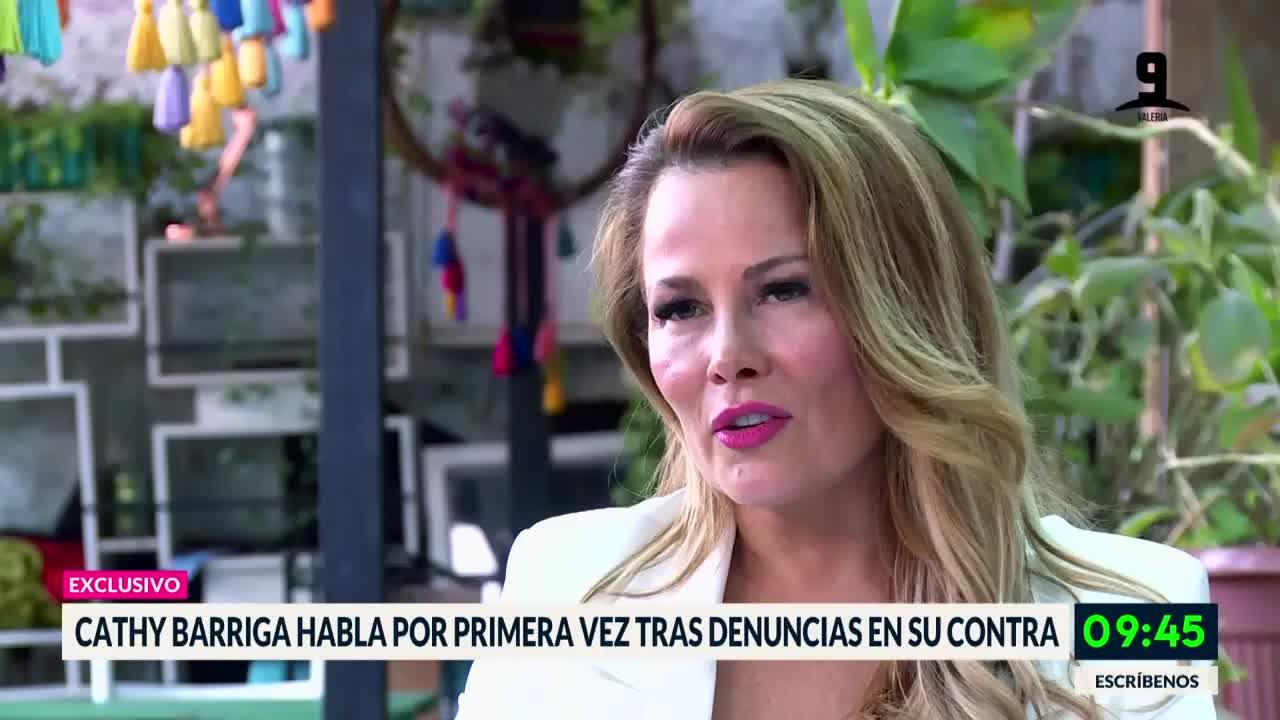Cathy Barriga respondió a críticas y denuncias en su contra
