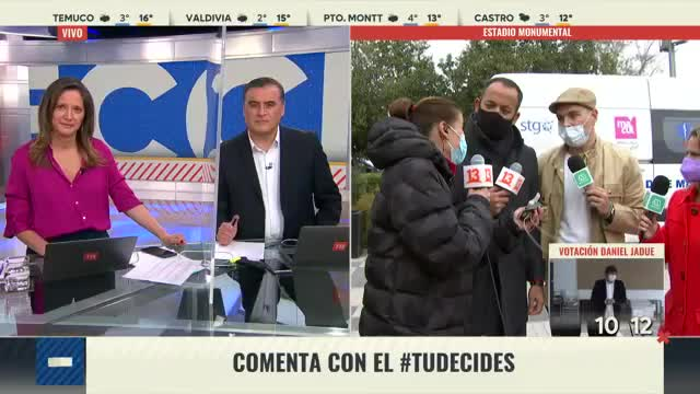 Tonka Tomicic y José Antonio Neme