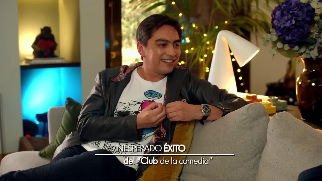 """Sergio Freire recordó sus inicios en TV y su éxito en """"El Club de la Comedia"""""""