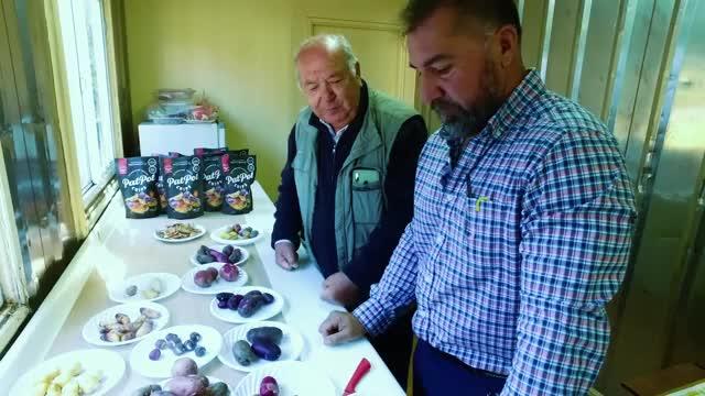 Alipio Vera conoce variedades de papas