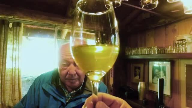 Alipio Vera probó espumante sureño