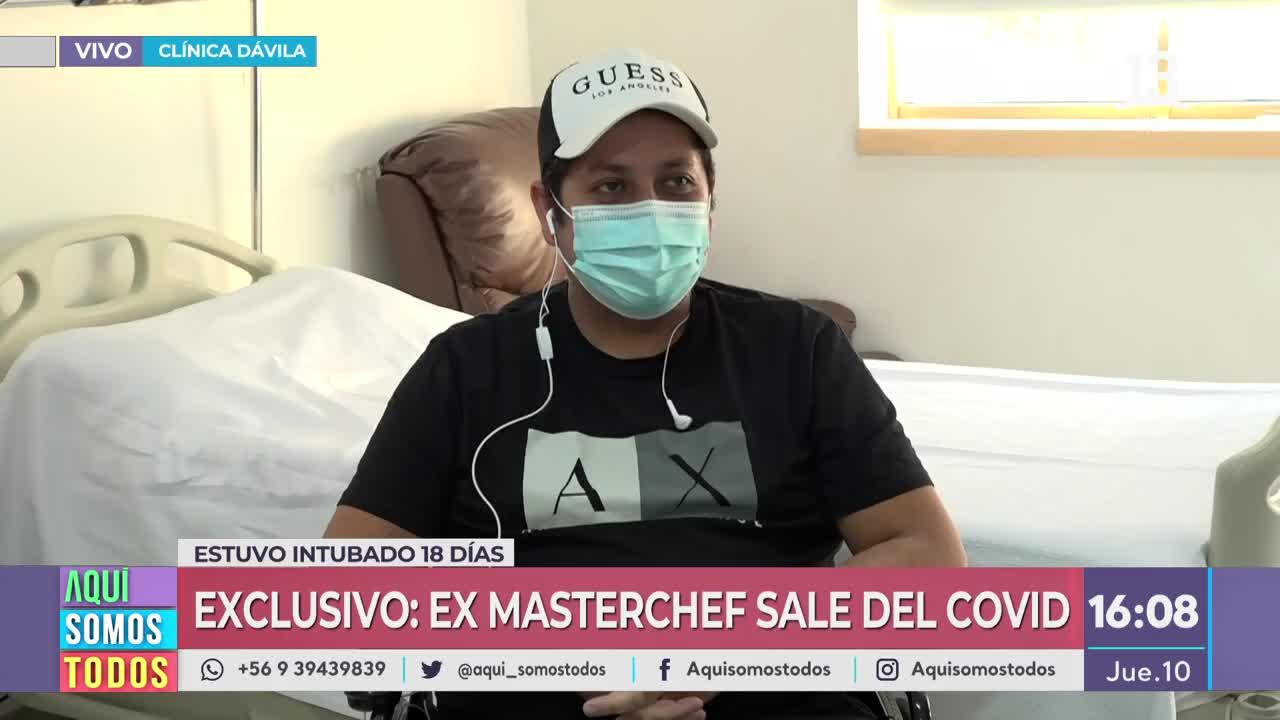 Ex participante de MasterChef es dado de alta luego de sobrevivir al Covid