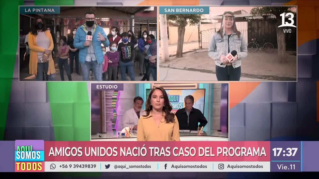 """""""Amigos Unidos"""": La ONG que nació tras un caso de Aquí Somos Todos"""