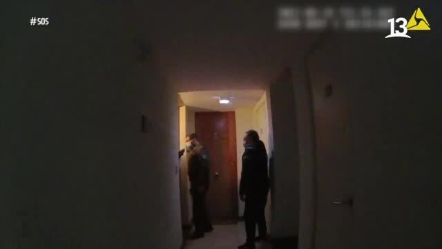 Emilio Sutherland habla con joven atacada por su cita