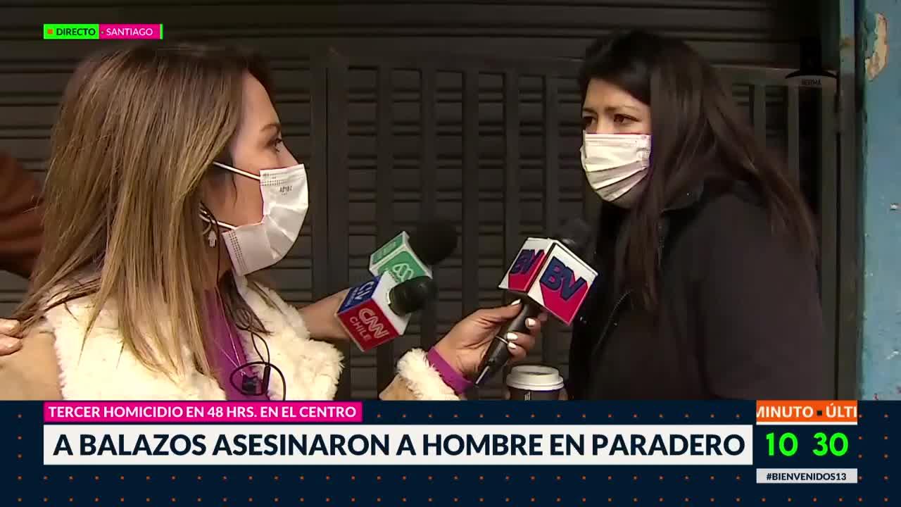 Duro testimonio de vecina tras nuevo asesinato en Santiago