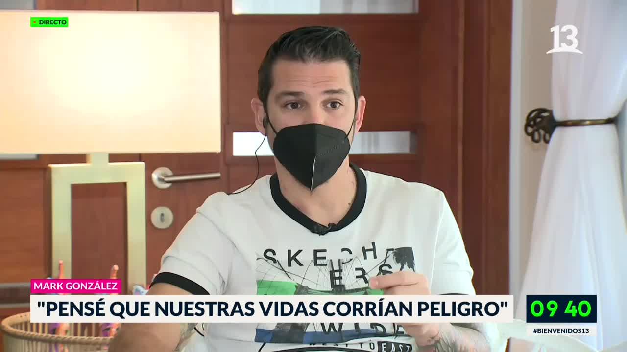 Mark González se quebró por impacto de agresión en sus hijos