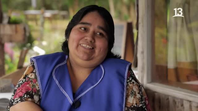 Marcelo Cicali recolectó papas en Chiloé