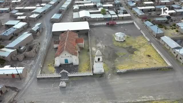 Claudio Iturra visitó Isluga, un pueblo aymara sagrado