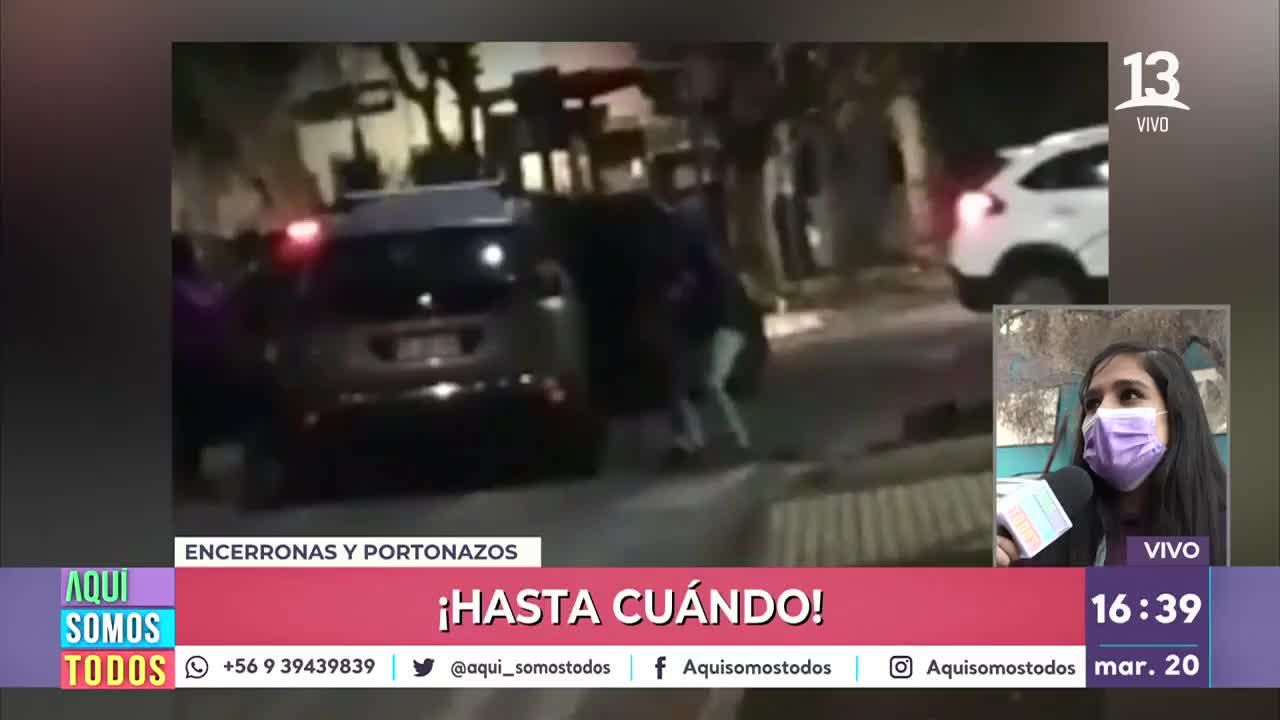"""""""No dejo de repetir las imágenes"""": Víctima de encerrona entregó su testimonio"""