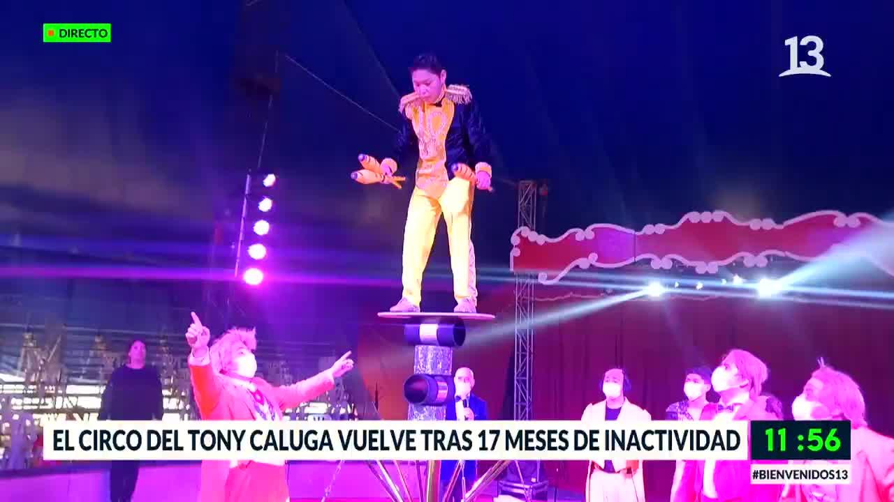El Circo Tony Caluga vuelve tras 17 meses de inactividad