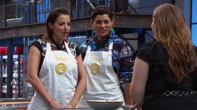 Yamila Reyna y Camila Recabarren se lucen con un arroz meloso