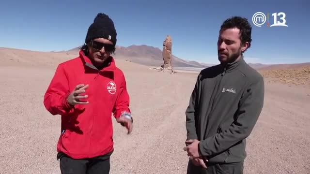 Descubre las desconocidas figuras rocosas del desierto en Ruta 5