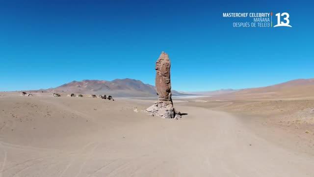 """Descubre las desconocidas figuras rocosas del desierto, """"Monjes La Pacana"""""""