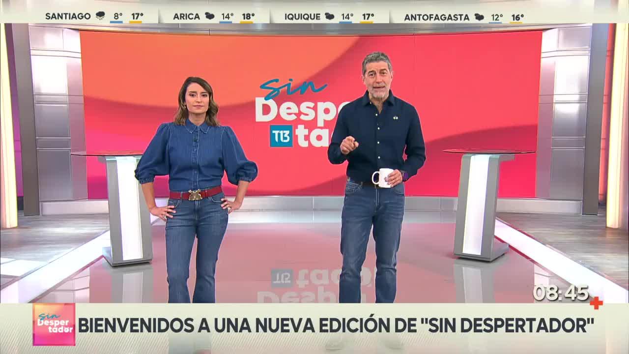 Polo Ramírez y Chantal Aguilar se vistieron igual para programa