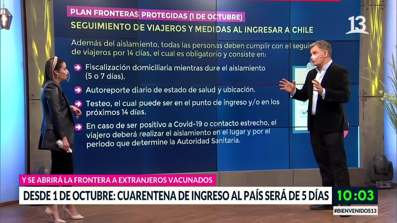 Plan Fronteras Protegidas: Anuncian cambios en tiempos de aislamiento