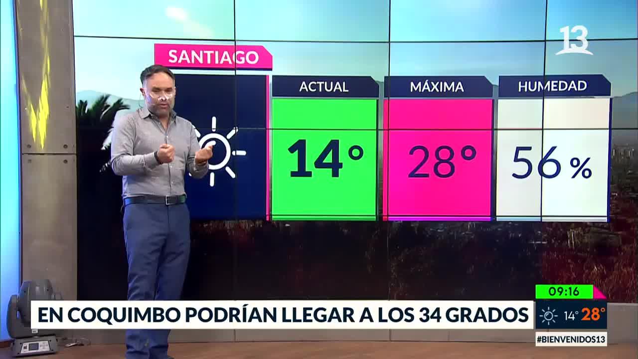 Septiembre terminará con altas temperaturas: Se esperan hasta 34 grados