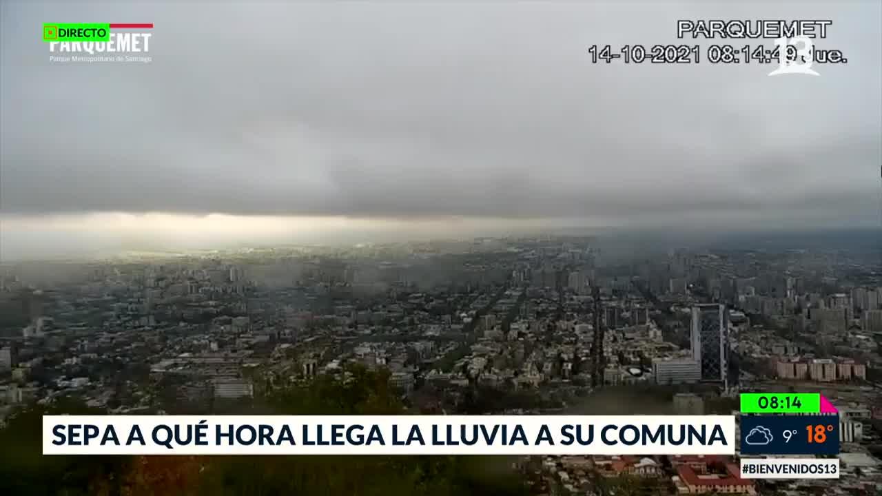¿Lloverá este jueves en Santiago? Conoce el pronóstico del tiempo