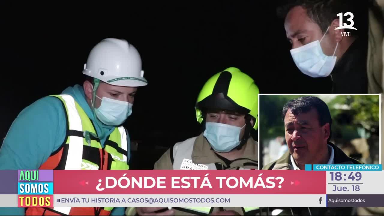 Búsqueda de Tomás continúa: Hablamos con el Alcalde de Arauco