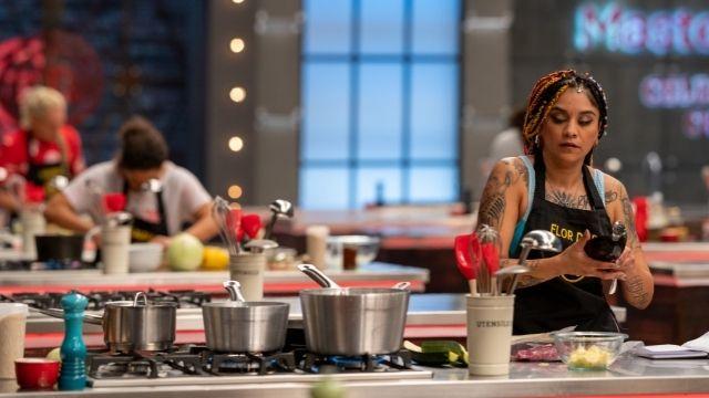 Flor de Rap se puso nerviosa en la cocina de la prueba de eliminación
