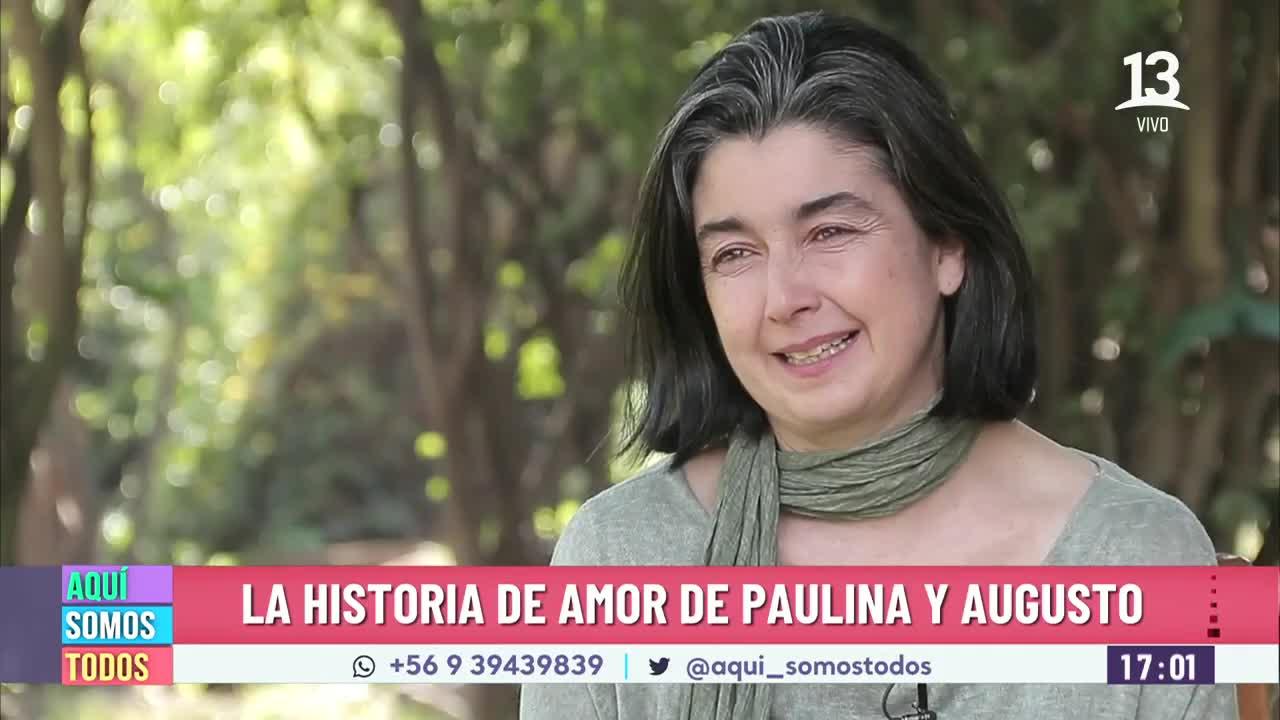 Paulina Urrutia y el Alzheimer de su esposo