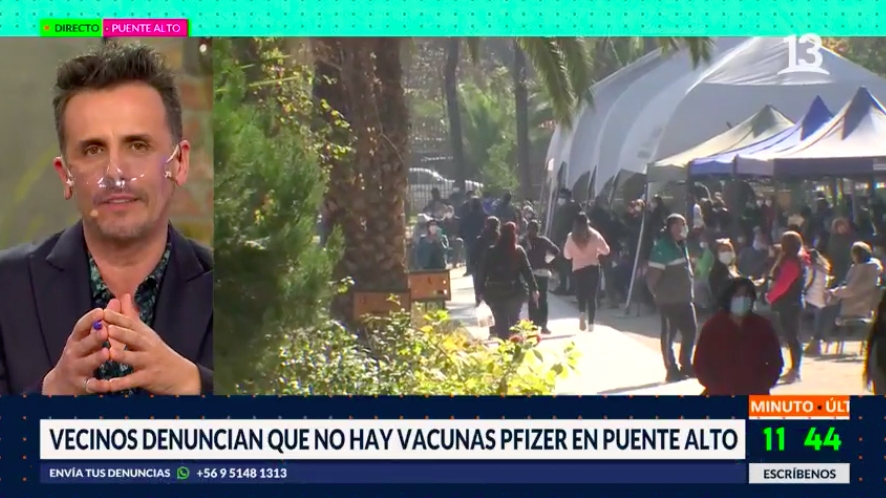 Vecinos denuncian falta de vacunas Pfizer en Puente Alto