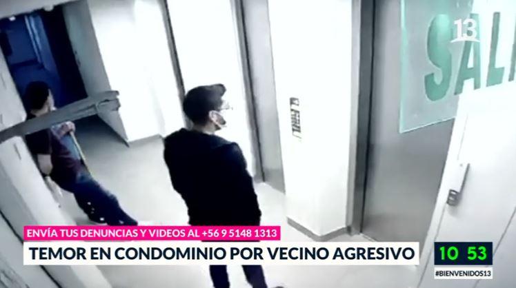 Temor en condominio por vecino agresivo