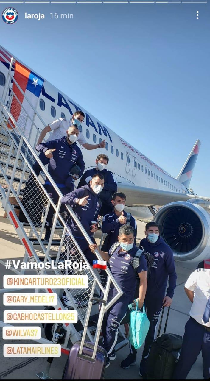 Chile viaje Brasil Copa Amérrica