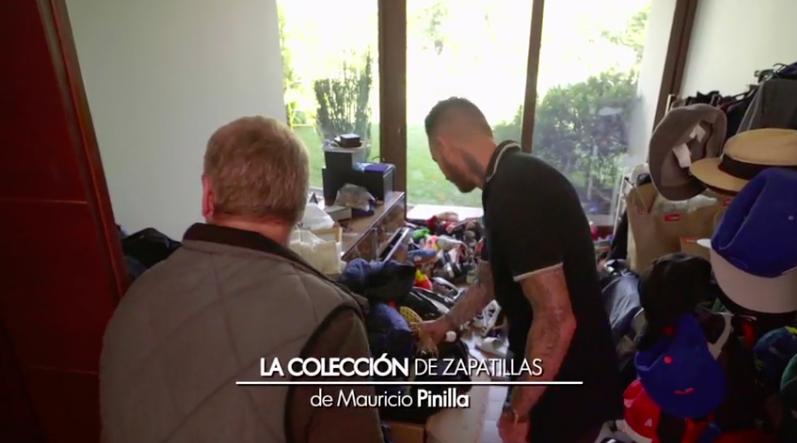 Mauricio Pinilla zapatillas
