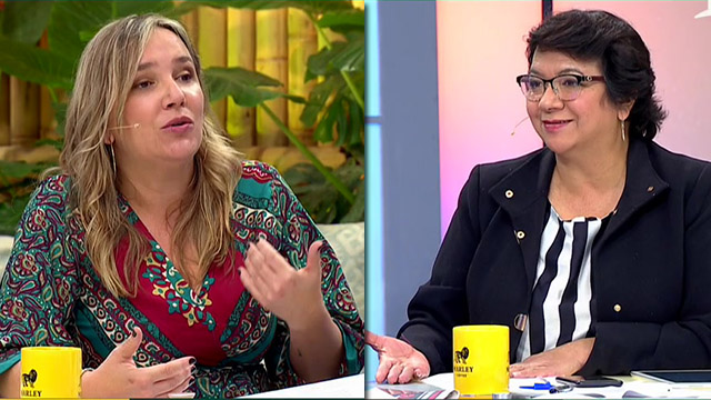 Debate entre Pepa Höffmann y Claudia Pizarro por rol de los ...