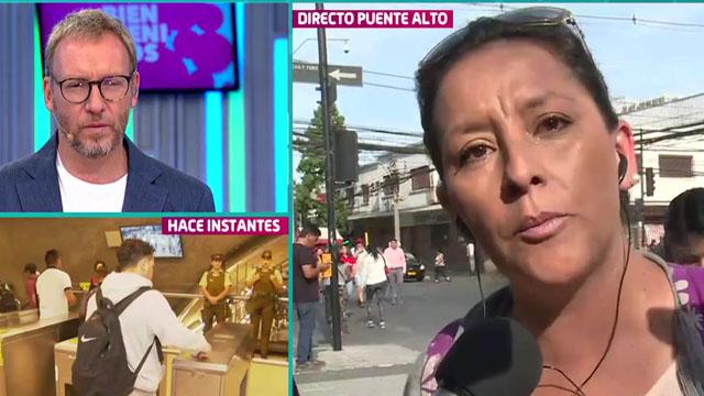 Vecinos de Puente Alto opinaron sobre la crisis social y sus demandas - 13.cl