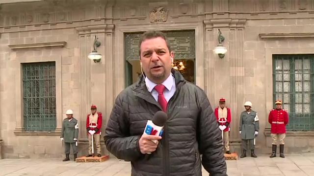 Bienvenidos ingresó al Palacio de Gobierno Boliviano