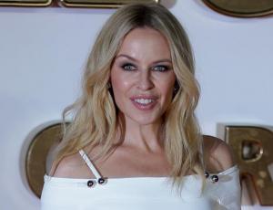 Kylie Minogue compartió con sus fans chilenos
