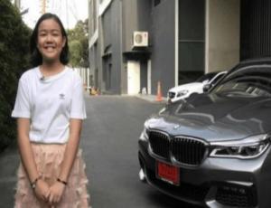 Youtuber de 12 años se compró un automóvil BMW de 190 mil dólares para su cumpleaños