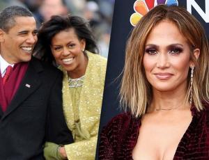 Michelle y Barack Obama felicitan a Jennifer López por su compromiso