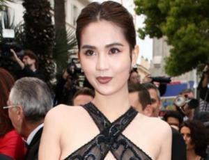 Reconocida modelo escandalizó a todos en Cannes con su osado look