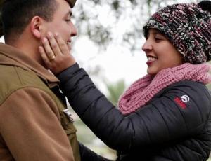 """""""Contra viento y marea"""": Oscar y Yasmín emocionaron a todo Chile con su impactante historia de amor"""