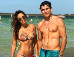 El motivo que reunió a Pangal Andrade y Jhendelyn Nuñez en Brasil