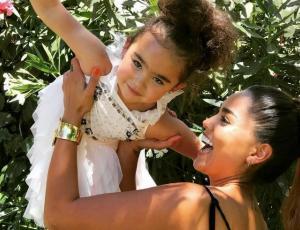 La polémica broma de Camila Recabarren a su hija de cinco años