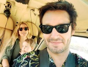 Benjamín Vicuña comparte la primera foto de toda su familia