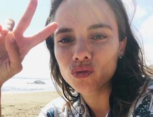"""María Gracia Omegna lució su abultada pancita en la premiere de """"Araña"""""""