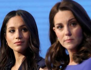 La feroz pelea a golpes de Kate Middleton y Meghan Markle