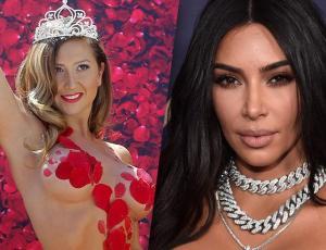 ¿Bitch Stole My look? Kim Kardashian y Nicole Moreno coinciden en look