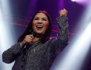 Ana Gabriel repletó el Movistar Arena en sus dos conciertos