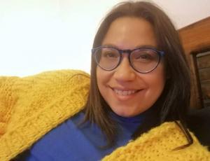 Alejandra Valle dejó el castaño y escogió el rubio