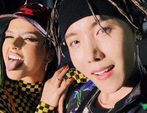 Integrante de BTS y Becky G lanzan canción en coreano, español e inglés