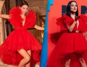 Becky G se pone el mismo vestido que Kendall Jenner y nos da una lección