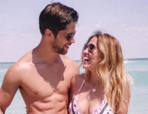 Las románticas vacaciones de Belén Soto y Branko Bacovich