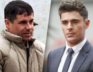 """Joven se hace famoso y lo apodan """"Chapo Efron"""" por parecido a Chapo Guzmán y Zac Efron"""